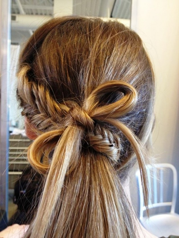 Cute Fishtail Braid With
