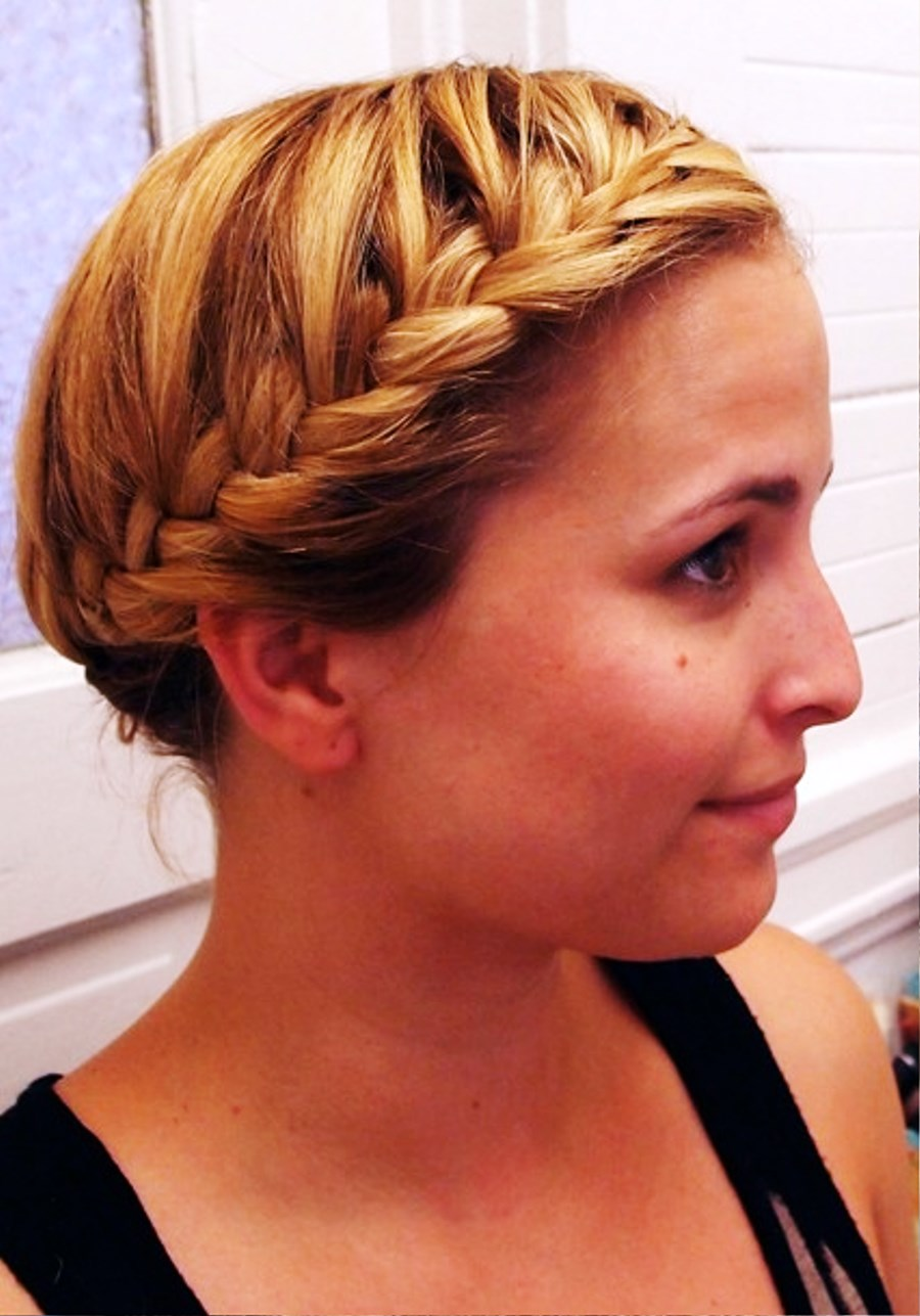 Amazing Pictures Of Cute French Braid Hairstyle Short Hairstyles For Black Women Fulllsitofus