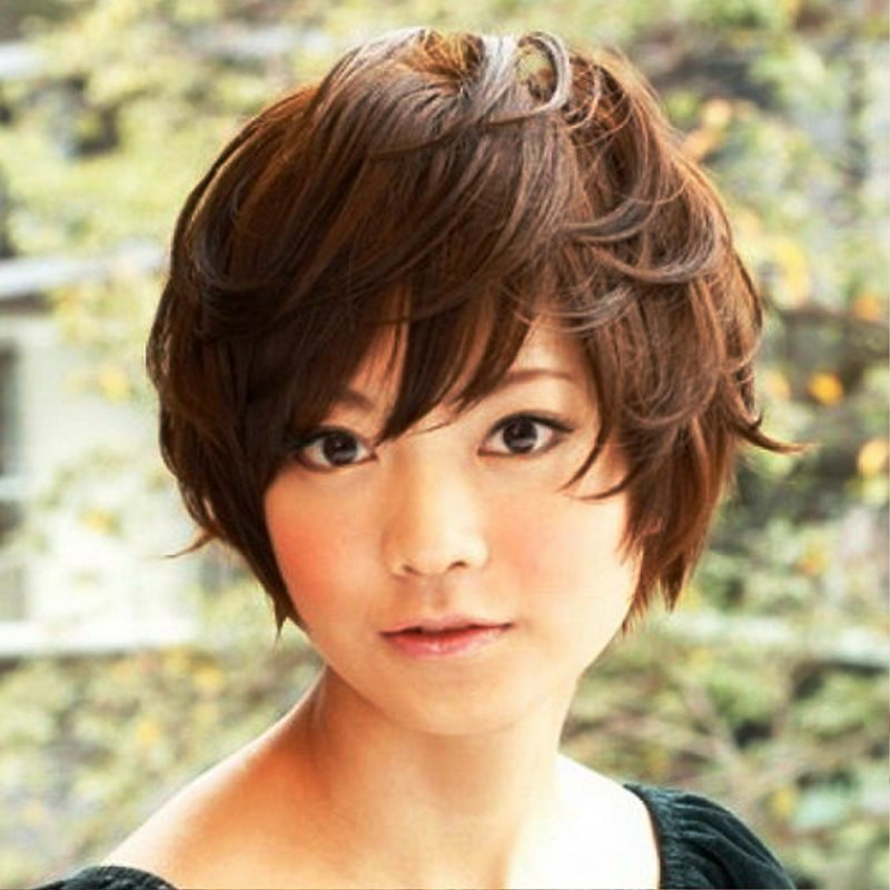of Cute Girl Short Hair Styles