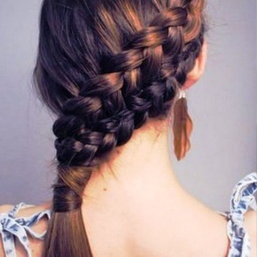 Cute Hairstyles For Long Hair For School 2013