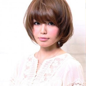 Cute Japanese Bob Hairstyle 2013