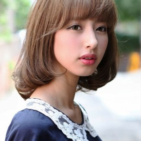 Cute Japanese Bob Hairstyle For Girls