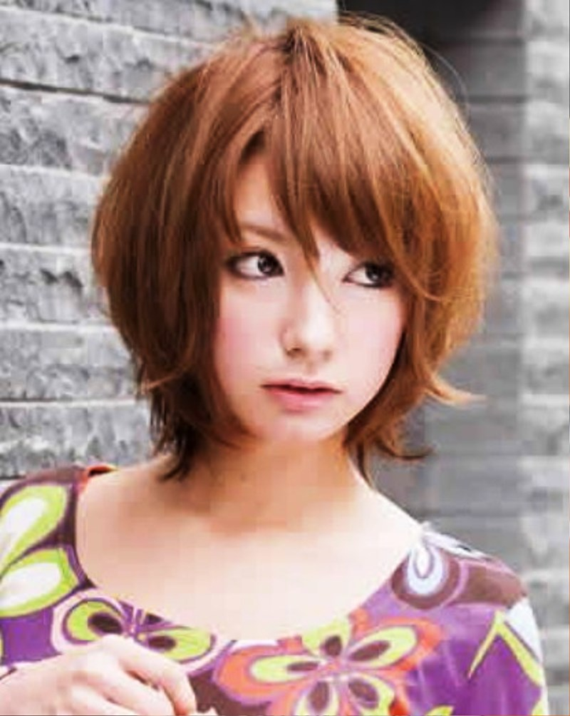 Cute Japanese Hairstyle For Women Pictures