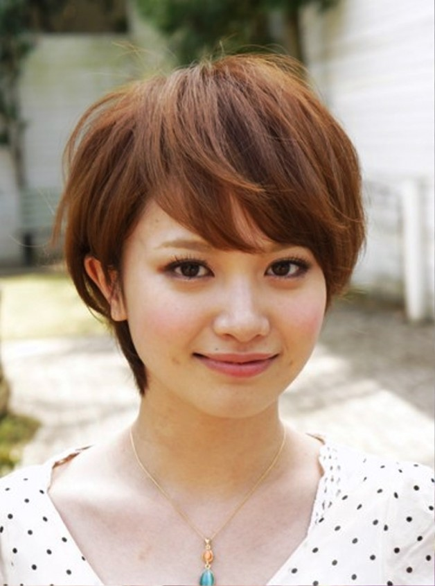 Cute Japanese Hairstyle With Bangs Behairstyles Com
