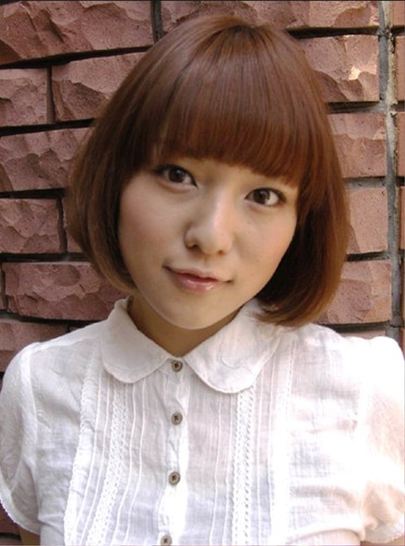 Pictures Of Cute Japanese Women Bob Haircut