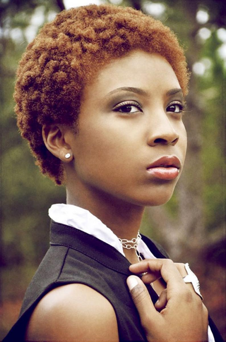 of Cute Natural Short Hairstyles for Black Women