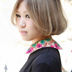 Cute Short Asian Bob Haircut