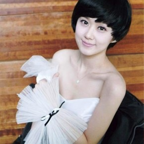 Cute Short Black Hairstyle With Short Bangs