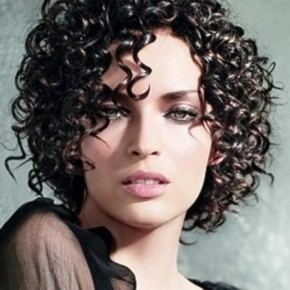 Cute Short Curly Black Hairstyles