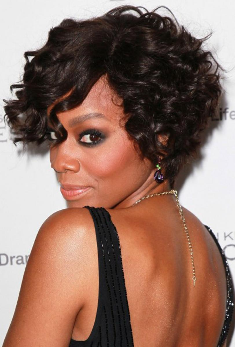 Sensational Pictures Of Cute Short Curly Hairstyles For Black Women Hairstyles For Men Maxibearus