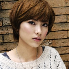 Cute Short Japanese Haircut For Women