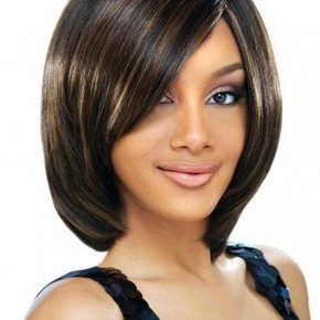 Cute Short bob Hairstyles for Black Women