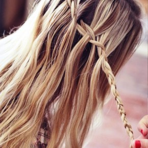 Cute Waterfall Braid