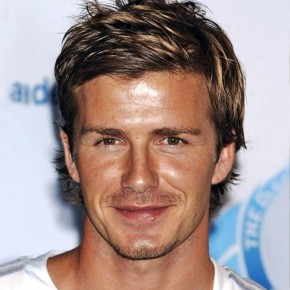 David Beckham Casual Short Hairstyle For Men