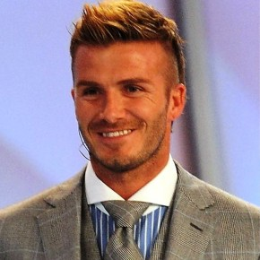 David Beckham Cool Hair Style