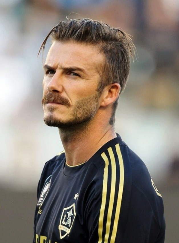 David Beckham Hair Styles 2013