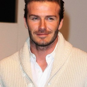 David Beckham Haircut 2012