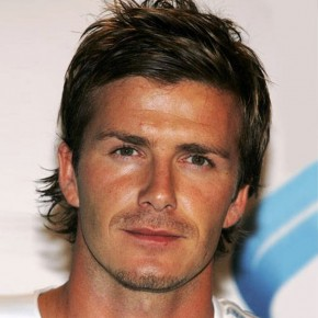 David Beckham Layered Hairstyle