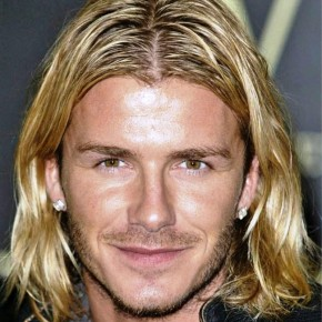 David Beckham Layered Long Hairstyles For Men