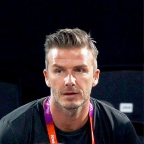 David Beckham London 2012 Olympic Hairstyle