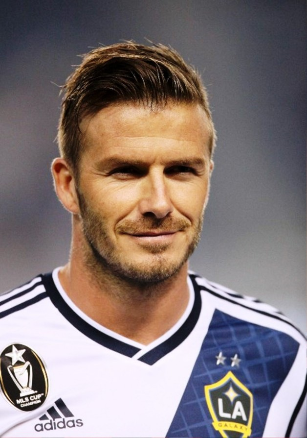 David Beckham Short Straight Haircut