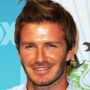 David Beckham Spiked Hairstyle