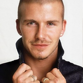 David Beckham Very Short Buzz Cut For Men
