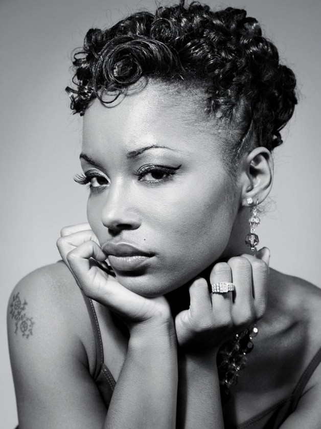 Different Natural Short Hairstyles for Black Women