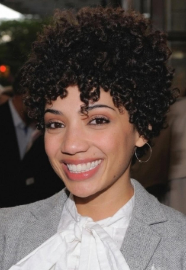 Different Short Curly Black Hairstyles