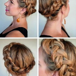 Dutch Crown Braid Updo1