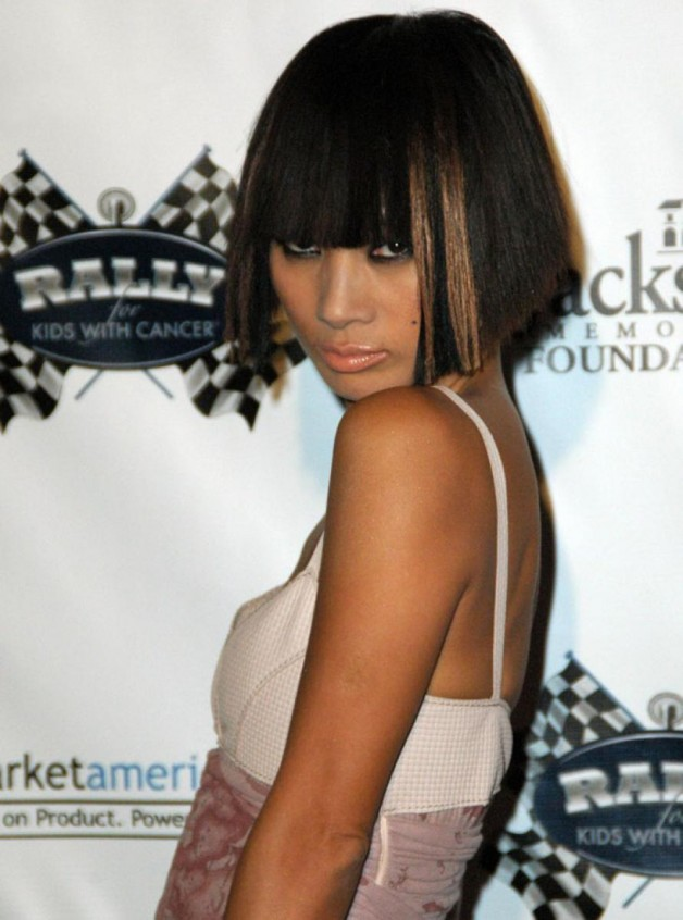 Easy Black Hairstyles with Bangs