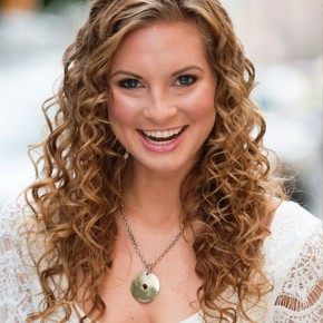 Easy Curly Hairstyles 2013
