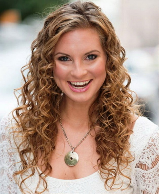 Wondrous Easy Curly Hairstyles 2013 Behairstyles Com Hairstyle Inspiration Daily Dogsangcom