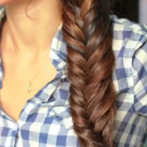 Easy Side Fishtail Braid For Women