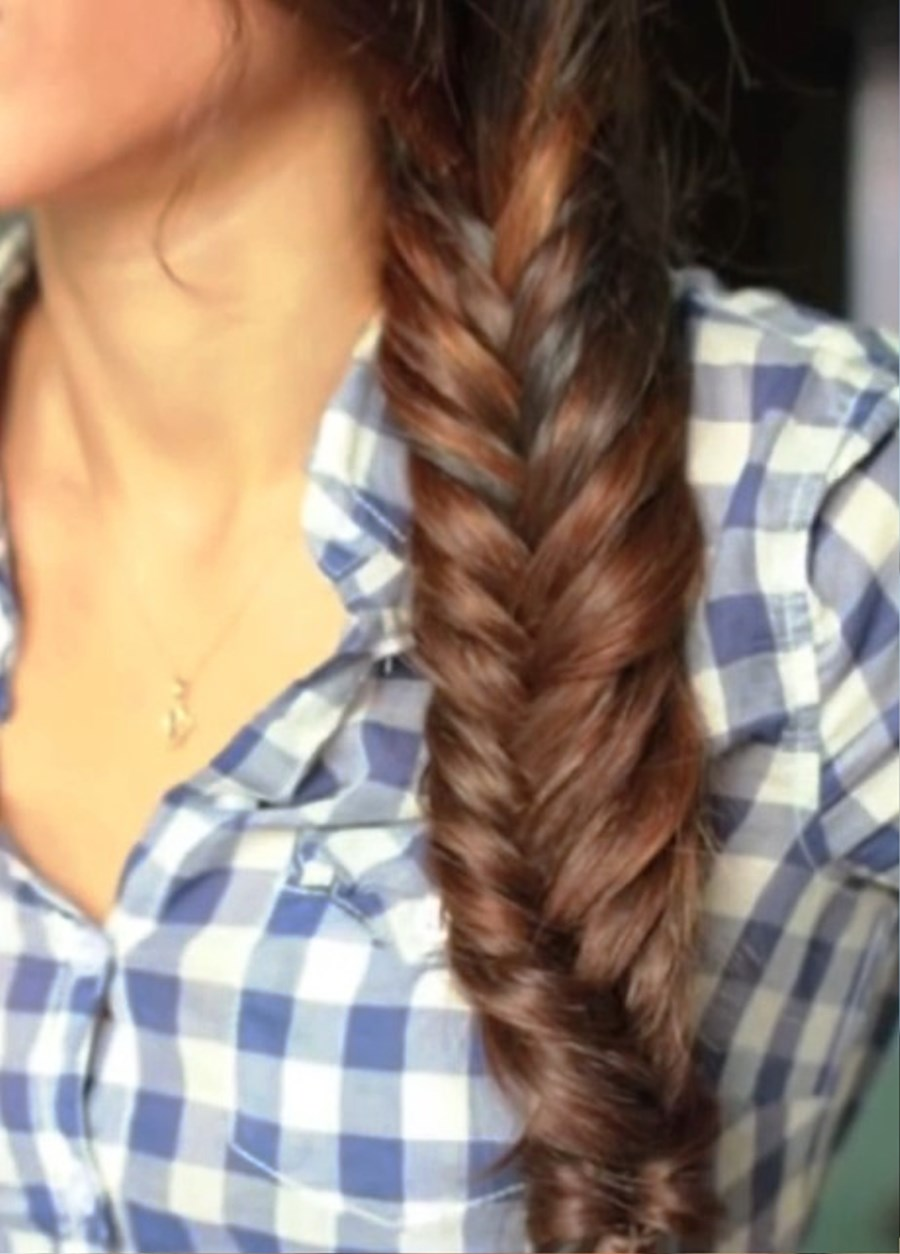 Tumblr fishtail braids