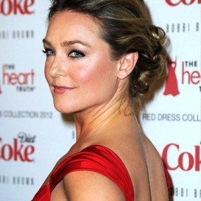 Elisabeth Rohm Latest Updo Hairstyles