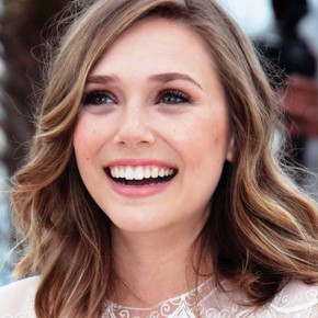 Elizabeth Olsen Medium Wavy Hairstyles