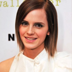 Emma Watson Short Sleek Hairstyle