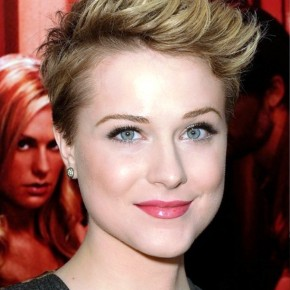 Evan Rachel Wood Short Pixie Hair Style