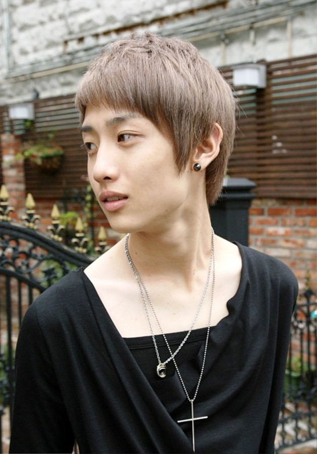 Fashion Korean Guys Haircut