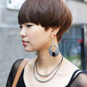 Female Boyish Short Hairstyle