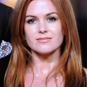 Fire Red Locks For Winter Isla Fisher Hairstyles