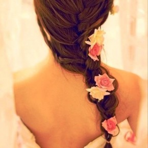 French Fishtail Braid For Wedding