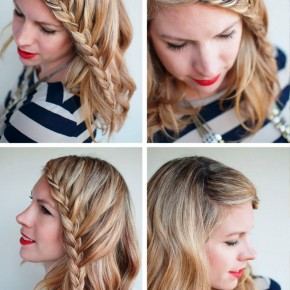 French Fringe Braid