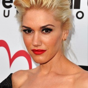 Gwen Stefani Updo Hairstyles For Mature Women