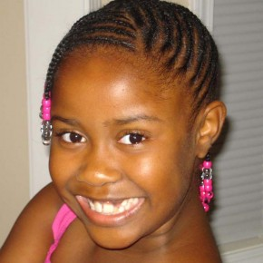 Hairstyles for Black Kids with Short Hair