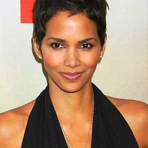 Halle Berry Short Black Haircut