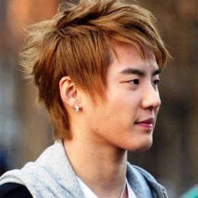 Handsome Asian Mens Hairstyle