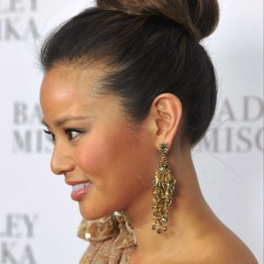 High Bun Updo Hairstyles 2013
