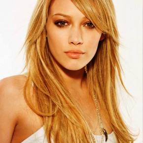 Hilary Duff Cute Long Layered Hairstyles
